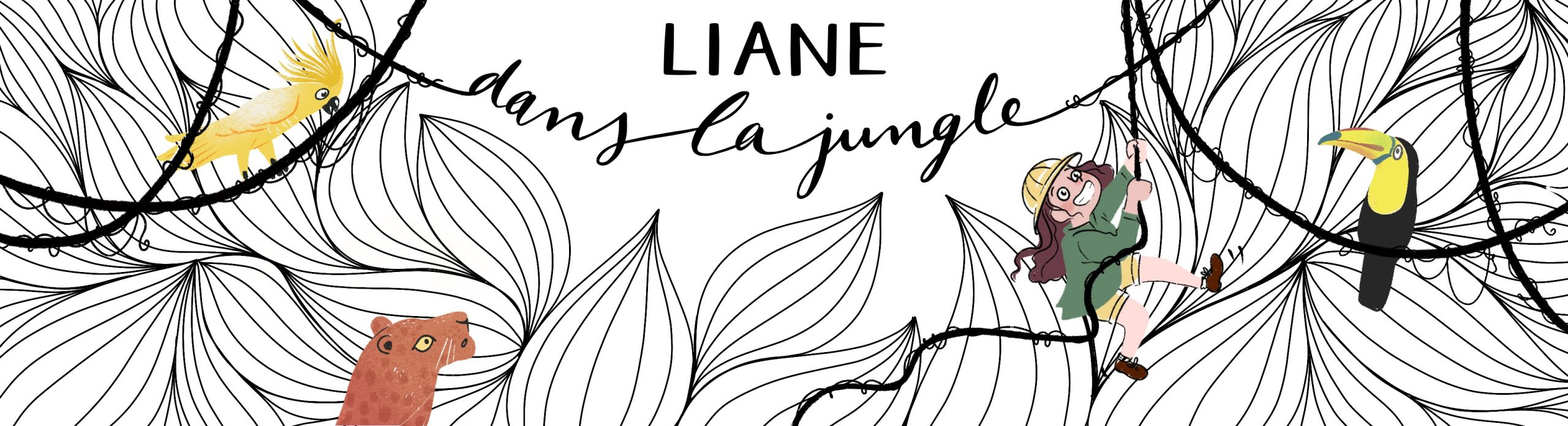 Liane dans la jungle